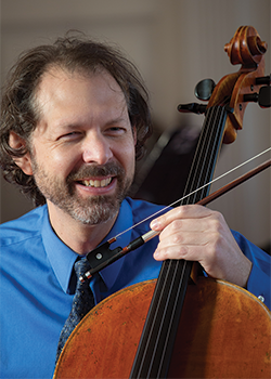 Stephen Feldman, cello