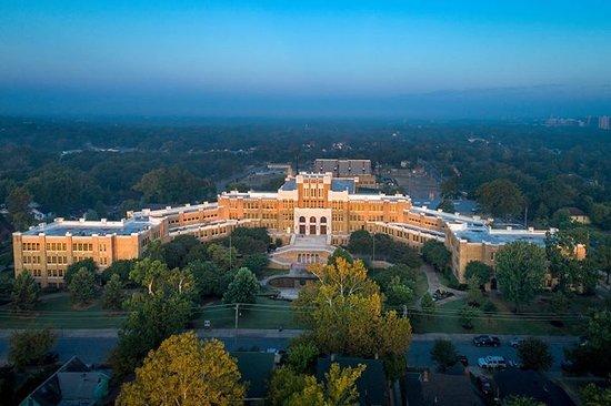 Little Rock Central High School Birds Eye View